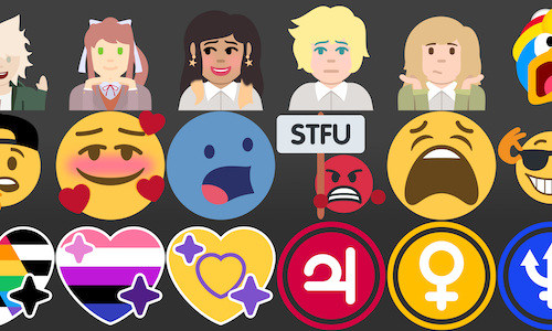 Chat emotes (base price is for one emoji)