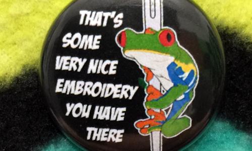 Frog - Magnetic Needleminder