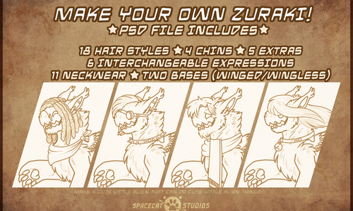 Make your own Zuraki!