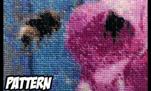 Bumblebees - Cross Stitch Pattern