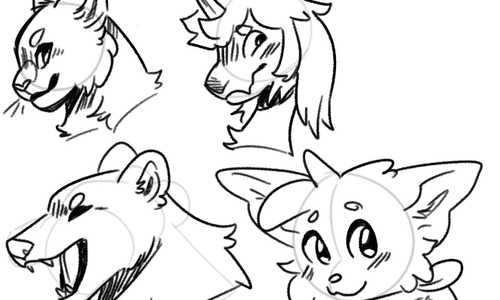 Headshot Sketches