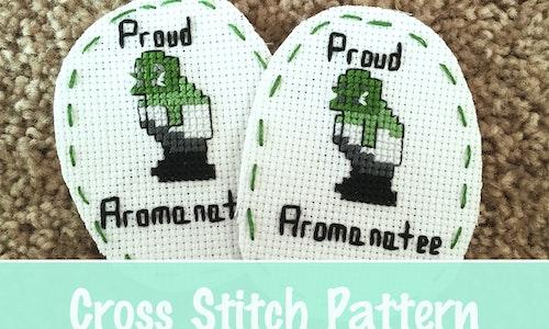Aromanatee Cross Stitch Pattern