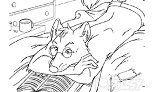 [LINEART] Late Night Reading